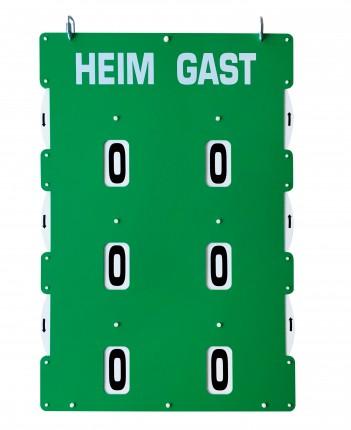 """Spielstandanzeiger ASS - Counter zum Aufhängen """"L"""""""