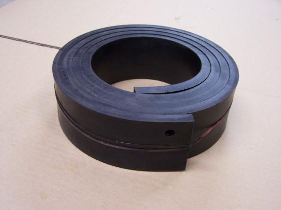 Ersatz - Gummileiste für Abzieh - Handhobel 2 m