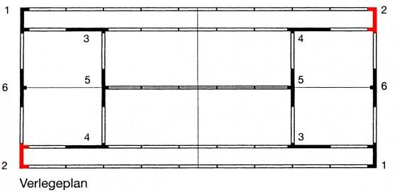 Eck - Element 2 für ASS - Linie - 5 cm