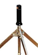 Teilkreis - Getrieberegner für Stativ mit 3/4'' Innengewinde