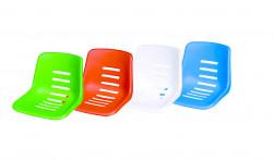 Sitzschale für Schiedsrichterstuhl, Farbe: grün zum Aufstecken