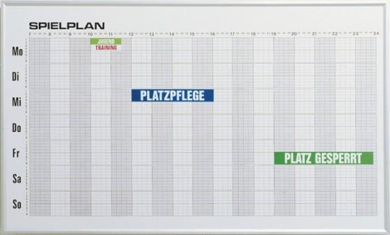Wochenbelegungsplan Maße: ca. 150 x 90 cm