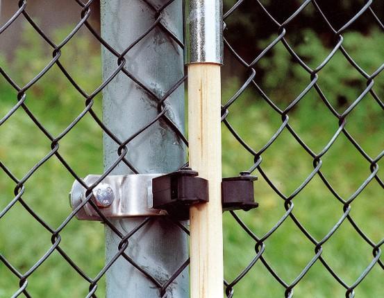 Klemm - Gerätehalter für 60 mm Pfosten zum Halten von Pflegegeräten