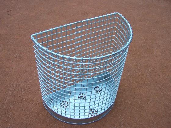 Abfallkorb zum Aufhängen - verzinkt