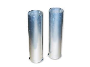 Bodenhülsen für runde Pfosten Ø 83 mm