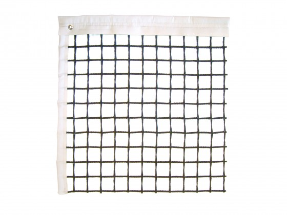 Tennisnetz Hard Cross schwarz