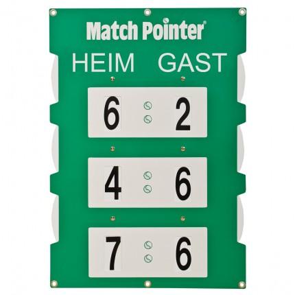 Match Pointer Größe S 35 x 50 cm mit 6 cm hohen Zahlen