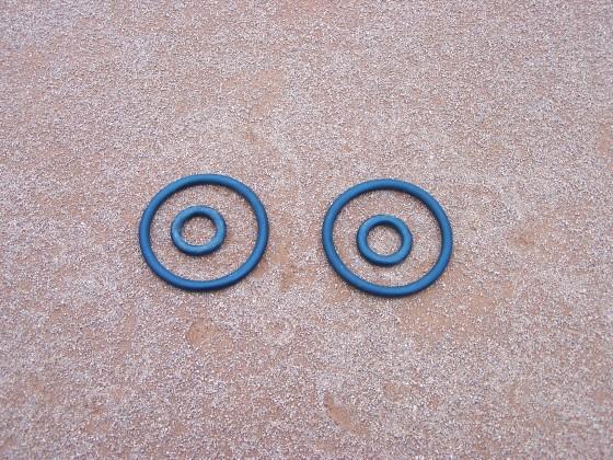 Ersatz - O - Ringe für ASS - Linienkehrmaschine